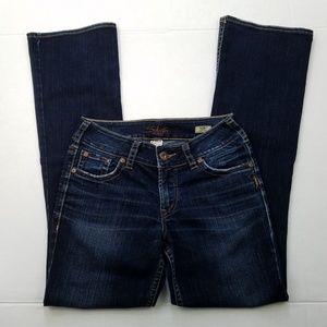 Silver Jeans Dark Wash Suki Boot